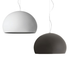 Kartell suspension lamp FL/Y 1 luce E27 Ø 52 cm