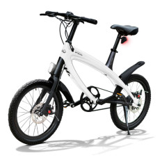 E-City Bike V-ITA Smart Solid with USB-White input
