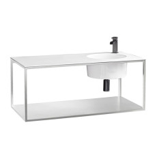 Axa One Suspended Structure with Rectangular Washbasin Skyland L 100x48 cm