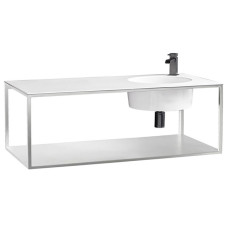 Axa One Suspended Structure with Rectangular Washbasin Skyland L 120x55 cm