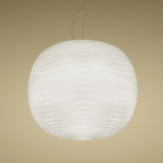 Foscarini suspension Gem ø 43cm 1 light LED