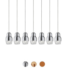 Axo Light Suspension lamp Fedora LED 7 Luci 7,5W H 19 cm