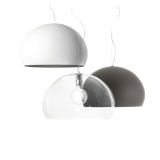 Kartell suspension lamp Small FL/Y 1 Luce E27 Ø 38 cm