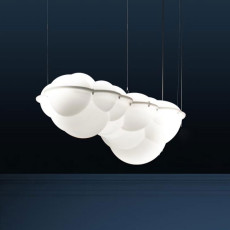 Nemo suspension lamp Nuvola Minor LED 88W L 100 cm