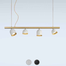 Marchetti suspension lamp Dome S4 LED 32W L 120 cm
