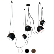 Flos Suspension lamp Aim 5 luci LED 80W Ø 24.3 cm