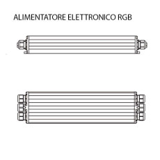 Ares Electronic ballast RGB L 37 cm IP67