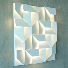 Nemo Wall Shadows grand Wall lamps LED 55W L 90 cm