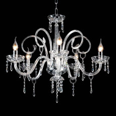 Crystal Chandelier Carmen Ciciriello 5 Lights E14 Ø 72 cm