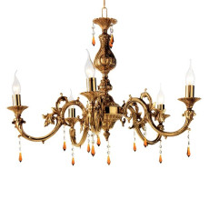 Crystal Chandelier 531 Ciciriello 5 Lights Ø 76 cm