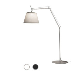 Artemide Outdoor Floor lamp Tolomeo Paralume LED 20W H 218,5 cm IP44 for Garden