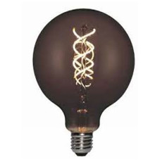 Bulb Vintage LED Filament Curved Smoky G125 5W E27 2200K 220/240V Ø 12.5 cm smoked dimmable DLItalia