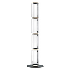 Flos Noctambule floor lamp 4 High Cylinders Big Base H Module 53 cm LED 45 W H 217 cm