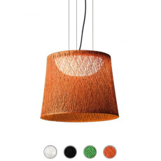 Vibia Outdoor pendant lamp Wind 1 luce 2GX13 IP65 H 48 cm and Garden