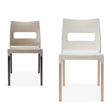 Scab chairs Natural Maxi Diva, stackable