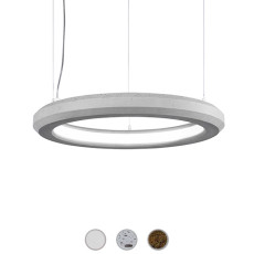 Marchetti suspension lamp Materica Circle in LED 27W Ø 60 cm