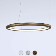 Marchetti suspension lamp Materica Circle in LED 40W Ø 90 cm