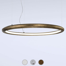 Marchetti suspension lamp Materica Circle in LED 54W Ø 120 cm