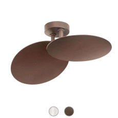 Studio Italia Design Wall lamp Puzzle Double Round LED 34W L 37,5 cm