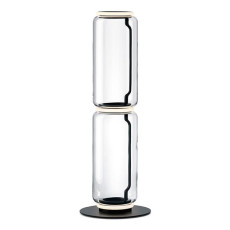 Flos Stand Noctambule 2 High Cylinder Small Base H Module 53 cm LED 27 W H 110 cm