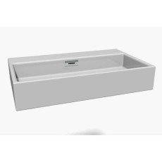 Lineabeta Counter top washbasin Quarelo L 69.5cm
