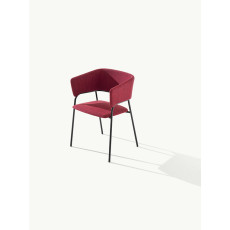 Metalmobil Chair with Armrests Play W 57 cm