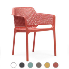 Nardi Armchair Net L 60.5 cm stackable Outdoor and Garden