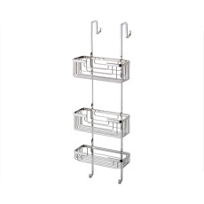 Gedy Shower stack with 3 baskets - stainless steel AISI 304