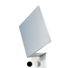 Studio Italia Design wall / ceiling lamp Puzzle Outdoor Single Square LED 17W L 18x18 cm Outdoor for outdoor and garden