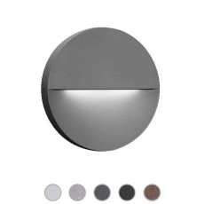 Ares Wall lamp Eclipse LED 7,5W Ø 23,3 cm IP65 Outdoor and Garden