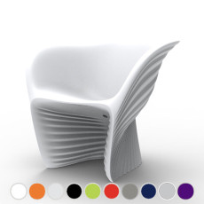 Vondom Lounge chair Biophilia L 91 cm For indoor and outdoor use