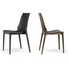 Scab chairs Lucrezia, stackable, also for garden