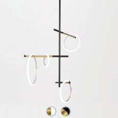 Marchetti Suspension lamp Ulaop LED 33W L 50 cm Dimmer