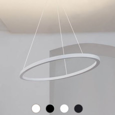 Nemo Ellisse Pendant Minor Pendant lamp uplight/downlight LED 54W L 102 cm