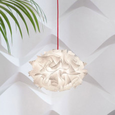 Slamp suspension lamp Veli Mini Single Couture 1 luce E27 Ø 32 cm