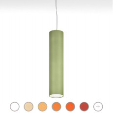 Modo Luce pendant lamp Lost 7 luci E27 Ø 40x160 cm dimmable - cotton