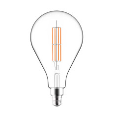 Bulb Fashion Line Led Luce Clear 11W E27 2700°K 220-240v 16x29cm Dimmable DLItalia