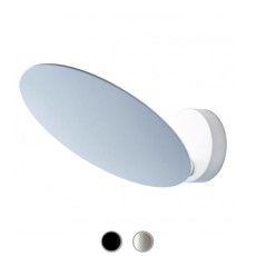 Studio Italia Design wall / ceiling lamp Puzzle Outdoor Single Round LED 17W L 19 cm Outdoor for outdoor and garden