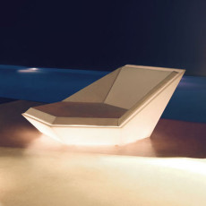 Vondom Daybed bright Smart wireless LED RGBW on battery Faz L 180 cm