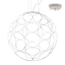 Fabbian Pendant Light Giro LED 17W Ø 85 cm