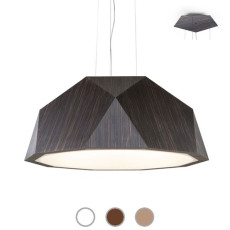 Fabbian Suspension lamp Crio Ø 115 cm LED 139W dimmable