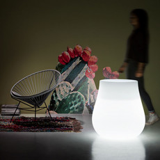 Plust bright vase Drop Light H 73 cm