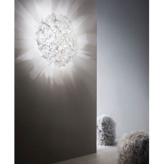 Slamp wall / ceiling lamp Veli Large Couture 3 luci E27 Ø 76 cm