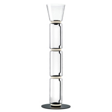 Flos Noctambule floor lamp 3 High Cylinders Cone Big Base H Module 53 cm LED 54 W H 197 cm