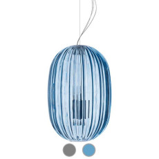 Foscarini Suspension Plass Medium 1xE27 + 1xGU10 L34 cm