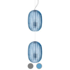 Foscarini Suspension Plass Medium Double 2 lights E27 Ø 34 cm