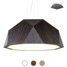 Fabbian Suspension lamp Crio Ø 180 cm LED 166,8W dimmable