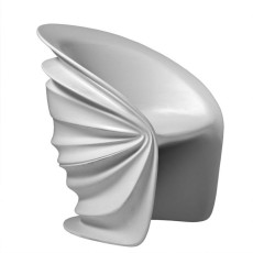 Driade Modesty Veiled Armchair, also for Outdoor