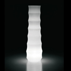 Plust bright vase Drop Light H 73 cm Outdoor