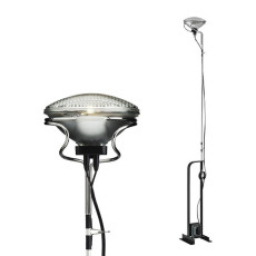 Flos floor lamp Toio 1 luce aluPAR H 158/195 cm dimmable Red
